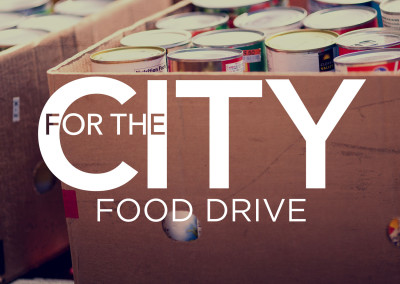 For the City Food Drive