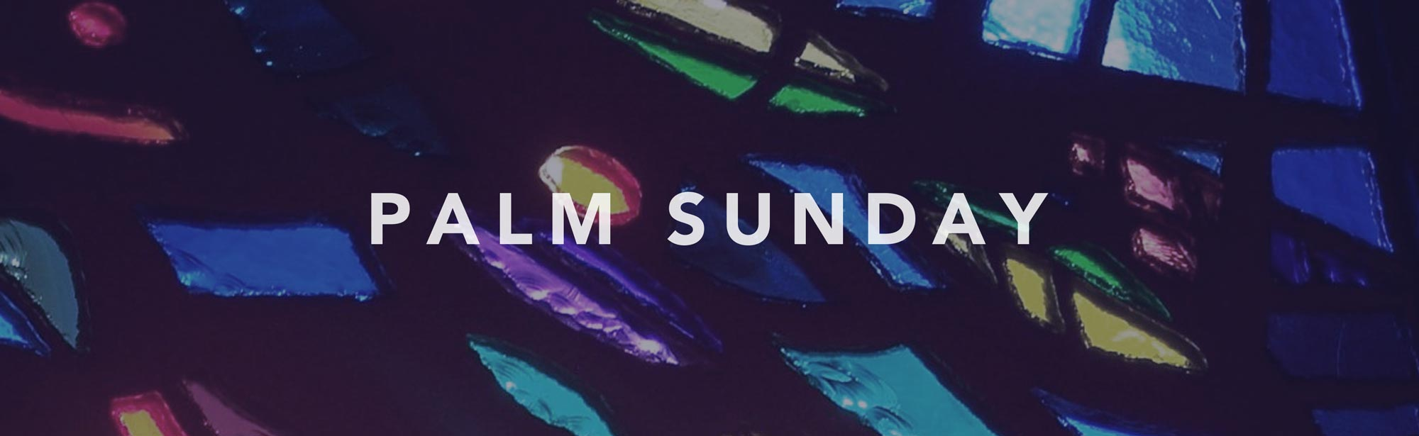 Palm Sunday - Sunday, April 9th at 9am & 11am - Grace Community Church