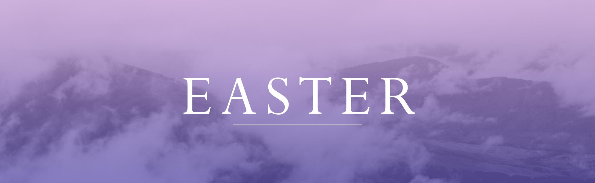 Easter Services Graphic - Sunday, April 1st at 8:30am, 10:30am & 11:00am - Grace Community Church