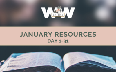 January Resources – Days 1-31